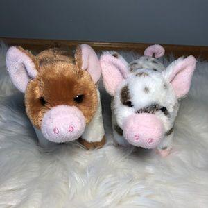 Douglas Brand Baby Pig Plush Stuffed Animals